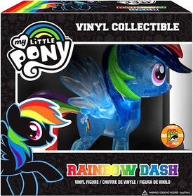 Funko My Little Pony 2013 SDCC San Diego Comic-Con Exclusive Vinyl Figure Crystalized Glitterized Sparkelized Glam Rainbow Dash