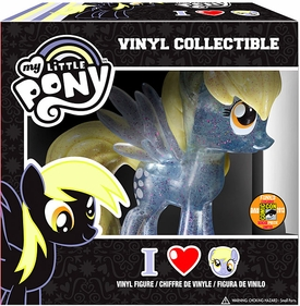 Funko My Little Pony 2013 SDCC San Diego Comic-Con Exclusive Vinyl Figure Crystalized Glitterized Sparkelized Glam Derpy Hooves