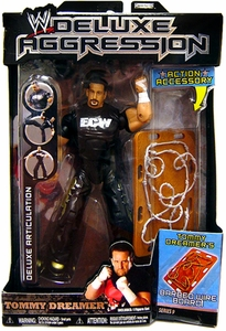 WWE Wrestling DELUXE Aggression Series 9 Action Figure Tommy Dreamer