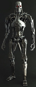 Hot Toys Terminator Salvation 1/6 Scale Figure T-700 Endoskeleton