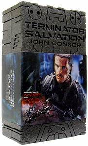 Terminator Salvation Hot Toys Movie Masterpiece 1/6 Scale Collectible Figure John Connor {Christian Bale} [Final Battle Version with Hydrobot]