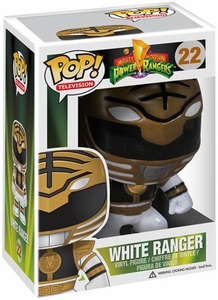 Funko POP! Mighty Morphin Power Rangers Vinyl Figure White Ranger New!