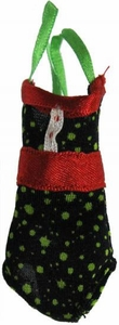 Monster High 10.5 Inch Scale LOOSE Doll Accessory Black and Green Polka Dot Swimsuit with Red Accents