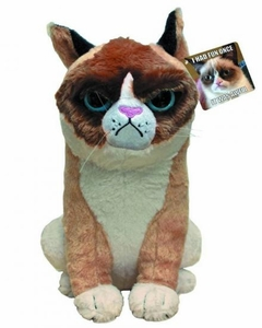 Grumpy Cat 11 Inch Plush Pre-Order ships March