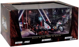 Hot Wheels 2008 SDCC San Diego Comic-Con Exclusive 3-Pack Batgirl Cycle, Batmobile & Batcycle
