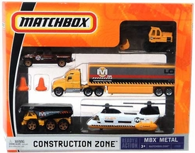 Matchbox Mattel Garage Adventure Set with MBX Pickup Truck