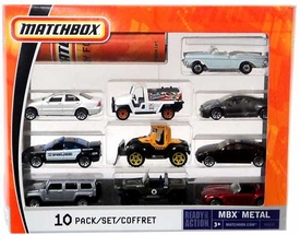 Matchbox Mattel Ready for Action MBX Metal 10-Pack [B5610]