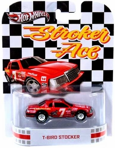 Hot Wheels Retro Stroker Ace 1:55 Die Cast Car T-Bird Stocker