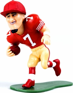 McFarlane Toys NFL Small Pros Series 2 LOOSE Mini Figure Colin Kaepernick [San Francisco 49ers] Red Jersey