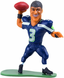 McFarlane Toys NFL Small Pros Series 2 LOOSE Mini Figure Russell Wilson [Seattle Seahawks]