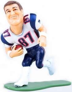 McFarlane Toys NFL Small Pros Series 2 LOOSE Mini Figure Rob Gronkowski [New England Patriots] White Jersey