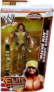 Mattel WWE Wrestling Elite Series 23 Action Figure Macho Man Randy Savage [Shirt & WWE Championship Winged Eagle Belt!]