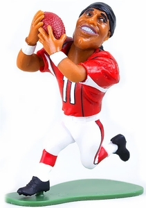 McFarlane Toys NFL Small Pros Series 2 LOOSE Mini Figure Larry Fitzgerald [Arizona Cardinals]