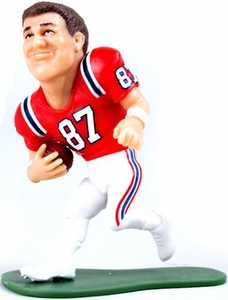 McFarlane Toys NFL Small Pros Series 2 LOOSE Mini Figure Rob Gronkowski [New England Patriots] Orange Jersey Variant