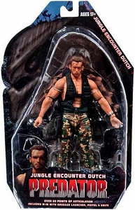 NECA Predator Movie Series 9 Action Figure Jungle Encounter Dutch Schaefer [Arnold Schwarzengger]