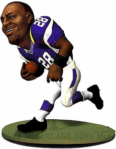 McFarlane Toys NFL Small Pros Series 1 LOOSE Mini Figure Adrian Peterson [Minnesota Vikings]