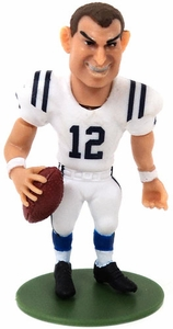 McFarlane Toys NFL Small Pros Series 1 LOOSE Mini Figure Andrew Luck [Alternate Uniform Variant]