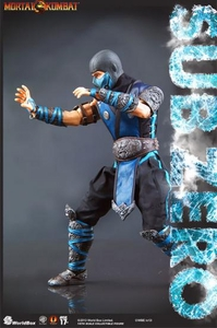 Mortal Kombat World Box 1/6 Scale Collectible Figure Sub Zero Pre-Order ships March