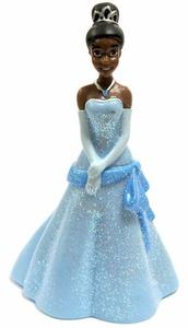 Disney The Princess and the Frog Exclusive 2.5 Inch PVC Mini Figurine Tiana in Blue Ballgown