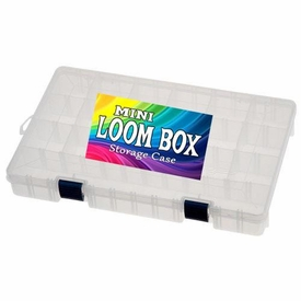 Official MINI Loom Box [Holds Up to 4,000 Rubber Bands & Bracelet Making Accessories!]