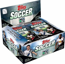 Topps MLS Soccer 2013 Booster BOX [24 Packs of 6 Cards]
