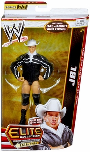 Mattel WWE Wrestling Elite Series 23 Action Figure JBL [Hat, Jacket & Towel!]