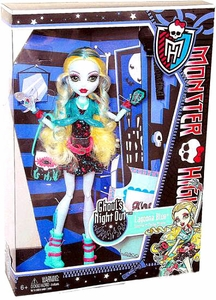 Monster High Ghoul's Night Out Deluxe Doll Lagoona Blue