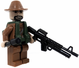 COBI Blocks LOOSE Minifigure Revolutionary Militant in Dark Tan Uniform with Assault Rifle & Stick Grenade 'Stielhandgranate' BLOWOUT SALE!