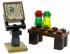 LEGO Castle LOOSE Accessory Wizard's Workshop