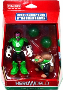 DC Super Friends Hero World Action Figure 2-Pack Sinestro & B'dg
