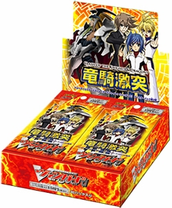 Cardfight Vanguard ENGLISH VGE-BT09 Clash of the Knights & Dragons Booster Box [30 Packs] Free Deck Box with Every 2-Box Purchase!