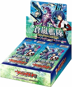 Cardfight Vanguard ENGLISH VGE-BT08 Blue Storm Armada Booster BOX [30 Packs] Free Playmat with Every 4-Box Purchase!