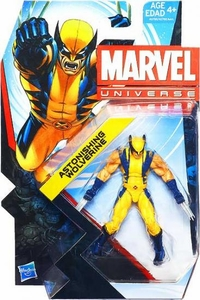 Marvel Universe 3 3/4 Inch Series 22 Action Figure #009 Astonishing Wolverine