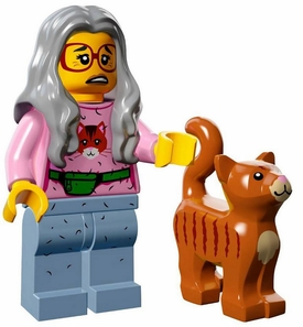 LEGO Minifigure Collection LEGO Movie Series LOOSE Mrs. Scratchen-Post