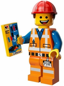 LEGO Minifigure Collection LEGO Movie Series LOOSE Hard Hat Emmet