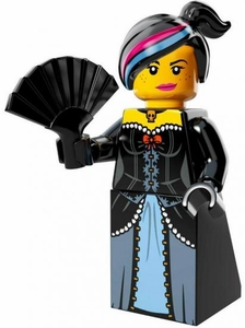 LEGO Minifigure Collection LEGO Movie Series LOOSE Wild West Wyldstyle