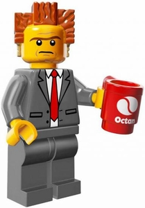 LEGO Minifigure Collection LEGO Movie Series LOOSE President Business
