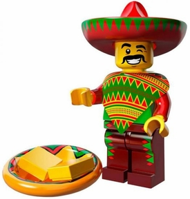 LEGO Minifigure Collection LEGO Movie Series LOOSE Taco Tuesday Guy