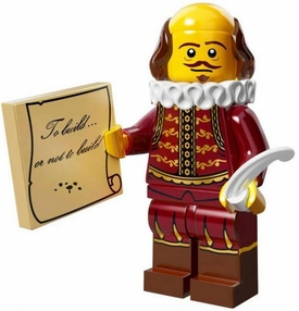 LEGO Minifigure Collection LEGO Movie Series LOOSE William Shakespeare
