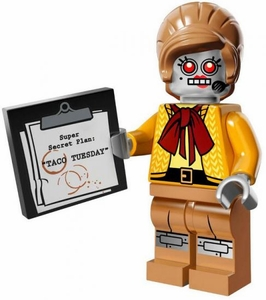 LEGO Minifigure Collection LEGO Movie Series LOOSE Velma Staplebot
