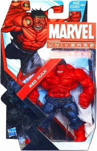 Marvel Universe 3 3/4 Inch Series 22 Action Figure #013 Red Hulk