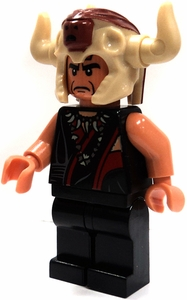 LEGO Indiana Jones LOOSE Mini Figure  Mola Ram in Skull Head Dress