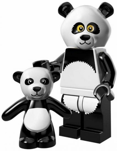 LEGO Minifigure Collection LEGO Movie Series LOOSE Panda Guy