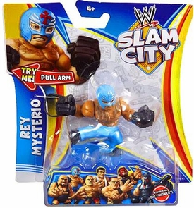 Mattel WWE Wrestling Slam City Action Figure Rey Mysterio
