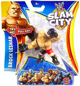Mattel WWE Wrestling Slam City Action Figure Brock Lesnar