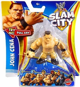 Mattel WWE Wrestling Slam City Action Figure John Cena