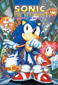 Sonic Comic Book Sonic the Hedgehog Archives Volume 21
