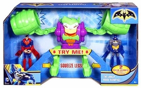 Batman Vehicle Set Joker Robo Rampage [Batman & Superman Mini Figures]