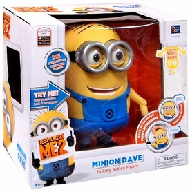 Despicable Me 2 Talking 8 Inch Figure Dave