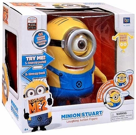 Despicable Me 2 Laughing 8 Inch Figure Stuart